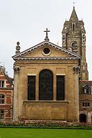 UK, England, Cambridge.  Pembroke College.  Christopher Wren Chapel, consecrated 1665.