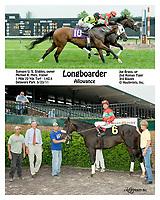 Longboarder winning at Delaware Park on 5/23/11