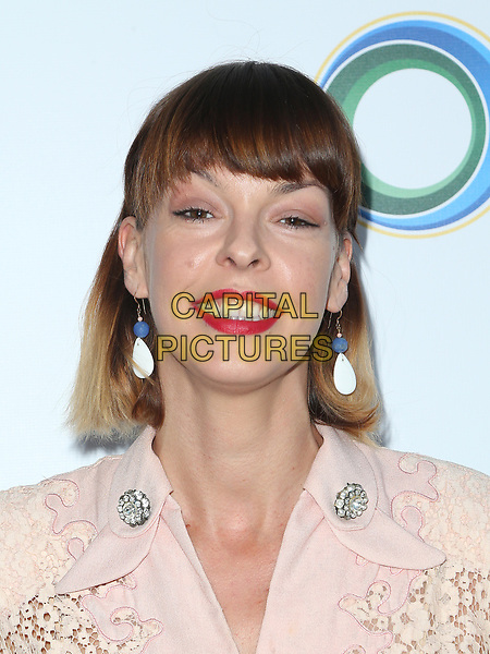 BEVERLY HILLS, CA - March 13: Pollyanna McIntosh, At The UCLA Institute Of The Environment And Sustainability Celebrates Innovators For A Healthy Planet At Private Resident In California on March 13, 2017. <br /> CAP/MPI/FS<br /> ©FS/MPI/Capital Pictures