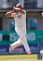 Darren Stevens bowls for Kent during Kent CCC vs Worcestershire CCC, LV Insurance County Championship Division 3 Cricket at The Spitfire Ground on 5th September 2021