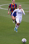 Liga IBERDROLA 2020-2021. Jornada: 18.<br /> FC Barcelona vs R. Madrid: 4-1.<br /> Marta Cardona.
