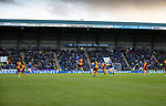 St Johnstone v Galatasaray…12.08.21  McDiarmid Park Europa League Qualifier<br />Murray Davidson gets above Berkan Kutlu<br />Picture by Graeme Hart.<br />Copyright Perthshire Picture Agency<br />Tel: 01738 623350  Mobile: 07990 594431