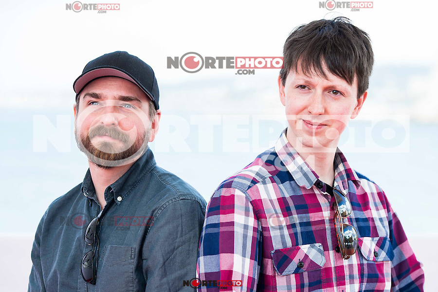 """The directors of the film, Jeremy Gillespie and Steven Kostanski pose to the media during the presentation of the film """"The Void"""" at the Festival de Cine Fantastico de Sitges in Barcelona. October 08, Spain. 2016. (ALTERPHOTOS/BorjaB.Hojas) /NORTEPHOTO.COM"""