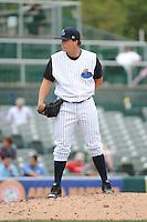 Trenton Thunder  pitcher Jacob Lindgren (24) during game against the Altoona Curve at ARM & HAMMER Park on August 6, 2014 in Trenton, NJ.  Trenton defeated Altoona 7-3.  (Tomasso DeRosa/Four Seam Images)