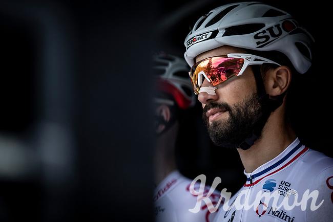Nacer Bouhanni (FRA/Cofidis), pre race<br /> <br /> GP Marcel Kint 2019 (BEL)<br /> One Day Race: Kortrijk – Zwevegem 188.10km. (UCI 1.1)<br /> Bingoal Cycling Cup 2019