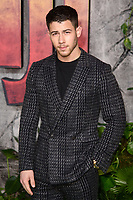 "Nick Jonas<br /> arriving for the ""Jumanji: Welcome to the Jungle"" premiere at the Vue West End, Leicester Square, London<br /> <br /> <br /> ©Ash Knotek  D3358  07/12/2017"