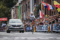 Nathan Haas (AUS/Cofidis) willy <br /> <br /> Men Elite – Road Race (WC)<br /> Race from Antwerp to Leuven (268.3km)<br /> <br /> ©kramon