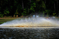 Frame 7: While chasing 13-V, 409-F goes up and over his roostertail. (runabouts)