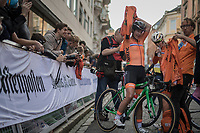 Marianne Vos (NED/WM3 Energie) post-finish<br /> <br /> Women Elite Road Race<br /> <br /> UCI 2017 Road World Championships - Bergen/Norway
