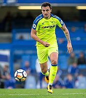 George THORNE of Derby County returns after a long injury lay off during the U23 Premier League 2 match between Chelsea and Derby County at Stamford Bridge, London, England on 18 August 2017. Photo by Andy Rowland.<br /> **EDITORIAL USE ONLY FA Premier League and Football League are subject to DataCo Licence.