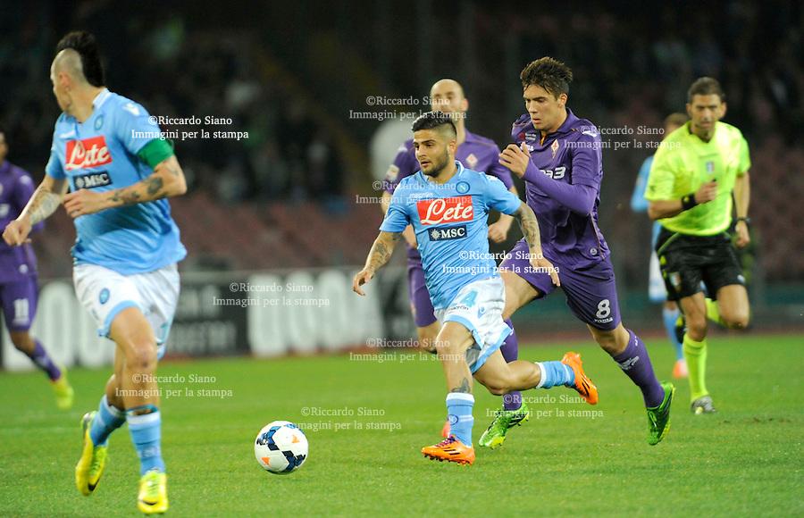 - NAPOLI 23 MAR  -  Stadio San Paolo    Napoli -  Fiorentina<br />  nella foto  Insigne