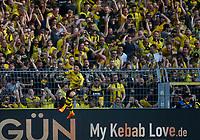 Dortmund, Germany, 1. Football  BL,  match day 31 ,<br />Borussia Dortmund vs Bayer Leverkusen 4-021. 04 .2018  Signal - Iduna Park stadium  in Dortmund <br />Jadon Malik SANCHO (BVB)  *** Local Caption *** © pixathlon<br /> Contact: +49-40-22 63 02 60 , info@pixathlon.de