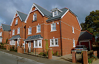 Three storey detached houses, Guildford, Surrey.