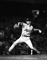 Gabe White of the Montreal Expos during a 1995 season game at Dodger Stadium in Los Angeles,California.(Larry Goren/Four Seam Images)
