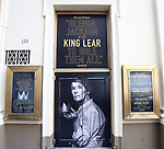 "Theatre Marquee unveiling for ""King Lear starring Glenda Jackson"" at the Cort Theatre on February 8, 2019 in New York City."