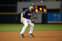 Daytona Tortugas third baseman Nick Senzel (17) during the Florida State League All-Star Game on June 17, 2017 at Joker Marchant Stadium in Lakeland, Florida.  FSL North All-Stars defeated the FSL South All-Stars  5-2.  (Mike Janes/Four Seam Images)