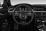 Car pictures of steering wheel view of a 2014 Audi S4 Base 4 Door Sedan