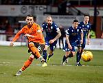 08.11.2019 Dundee v Dundee Utd: Nicky Clark scores from the penalty spot