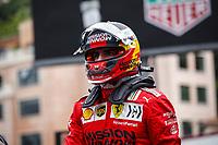 22nd May 2021; Principality of Monaco; F1 Grand Prix of Monaco, qualifying sessions;  SAINZ Carlos (spa), Scuderia Ferrari SF21