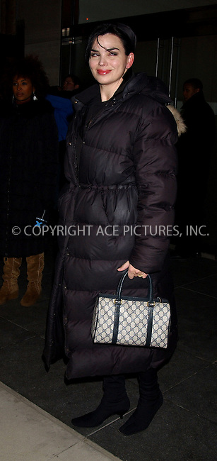 WWW.ACEPIXS.COM . . . . . ....NEW YORK, FEBRUARY 21, 2006....Karen Duffy at the screening and reception for the New York Opening of Academy Award Nominated Film 'STREET FIGHT'....Please byline: KRISTIN CALLAHAN - ACEPIXS.COM.. . . . . . ..Ace Pictures, Inc:  ..Philip Vaughan (212) 243-8787 or (646) 679 0430..e-mail: info@acepixs.com..web: http://www.acepixs.com