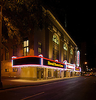 The historic Hawaii Theater, downtown Honolulu