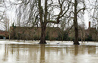 """Widespread flooding in Bedford and surrounding villages where the River Great Ouse has burst its banks.<br /> Severe flood warnings were issued for areas along the River Great Ouse by the UK Environment Agency and residents living near the river were """"strongly urged"""" to seek alternative accommodation due to fears of flooding. Bedford, UK Boxing Day December 26th 2020<br /> <br /> Photo by Keith Mayhew"""