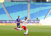 16th May 2020, Red Bull Arena, Leipzig, Germany; Bundesliga football, Leipzig versus FC Freiburg;  Timo Werner RBL in action in front of empty spectator areas