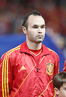 Spain's national team Andres Iniesta during match. October 16, 2012. (ALTERPHOTOS/Alvaro Hernandez) /NORTEPhoto
