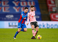 2nd January 2021; Selhurst Park, London, England; English Premier League Football, Crystal Palace versus Sheffield United; Oliver Norwood of Sheffield United being challenged by James McArthur of Crystal Palace