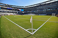 East Rutherford, NJ - Sunday June 26, 2016: MetLife Stadium prior to a Copa America Centenario finals match between Argentina (ARG) and Chile (CHI) at MetLife Stadium.