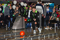 Pictured: Joe Rodon of Swansea City during the Swansea player and fans bowling evening at Tenpin Swansea, Swansea, Wales, UK. Wednesday 22 January 2020