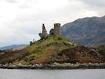 Castle Moil, Kyleakin, Isle of Skye, Scotland
