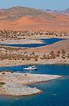 Plus grand lac artificiel du monde, le lac Nasser s'étire sur plus de 500 km au sud du barrage d'Assouan et sa profondeur dépasse parfois 180 m. La construction du barrage a mis sous l'eau toute une région  d'Assouan à Abou Simbel. Près de 800 000 Nubiens présents avant les temps pharaoniques ont du quitter la terre de leurs ancêtres.