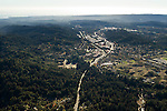 Highway acting as a barrier for wildlife, Highway 17, Scotts Valley, Santa Cruz Mountains, Monterey Bay, California