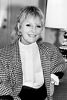 Singer and actress Petula Clark says fashion isn't terribly important to her, although her closet is crammed with clothes made by her dressmakers and by Yves Saint-Laurent.