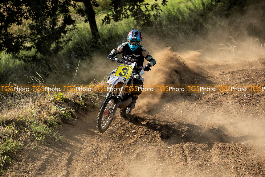 Jason Morland, South Eastern EVO in action during the Richard Fitch Memorial Trophy Motocross at Wakes Colne MX Circuit on 18th July 2021