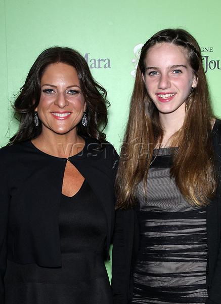 Women In Film Pre-Oscar Cocktail Party Presented By Perrier-Jouet, MAC Cosmetics & MaxMara At Fig & Olive Melrose Place<br /> <br /> Featuring: WOMEN IN FILM President Cathy Schulman,Leah Schulman<br /> Where: West Hollywood, California, United States<br /> When: 01 Mar 2014<br /> Credit: FayesVision/WENN.com
