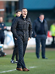 Dundee v St Johnstone…29.12.18…   Dens Park    SPFL<br />Dundee boss Jim Mcintyre shouts at his players<br />Picture by Graeme Hart. <br />Copyright Perthshire Picture Agency<br />Tel: 01738 623350  Mobile: 07990 594431