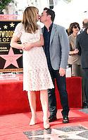 Allison Janney + boyfriend @ her Walk of Fame ceremony held @ 6100 Hollywood blvd. October 17, 2016