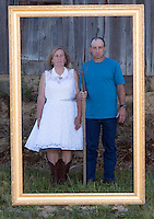 Sarah & Kelly's wedding at their family farm in Adamsville, OH on June 14, 2014.