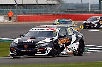 Round 6 of the 2020 British Touring Car Championship. #27 Dan Cammish. Halfords Yuasa Racing. Honda Civic Type R.