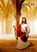 Donald, EASTER RELIGIOUS, paintings, Our Father1, USZO70,#er# Ostern, religiös, Pascua, relgioso, illustrations, pinturas