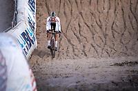 Tom Meeusen (BEL/Corendon Circus) in the infamous Pit<br /> <br /> CX Superprestige Zonhoven (BEL) 2019<br /> Elite & U23 mens race