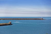 Fishguard Port, Pembrokeshire, Wales, UK