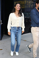 NEW YORK, NY- September 13: Emma Raducanu at Good Morning America to talk about her 2021 US Open wIn in New York City on September 13, 2021 <br /> CAP/MPI/RW<br /> ©RW/MPI/Capital Pictures