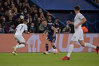 28th September 2021, Parc des Princes, Paris, France: Champions league football, Paris-Saint-Germain versus Manchester City:  Achraf Hakimi ( 2 - PSG ) - Joao Cancelo ( 27 - Manchester City )