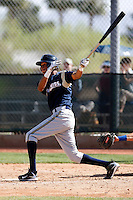 Carlos George - Milwaukee Brewers - 2009 spring training.Photo by:  Bill Mitchell/Four Seam Images