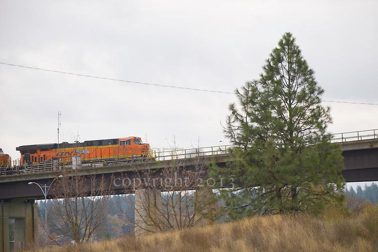 Train Crossing a Bridge