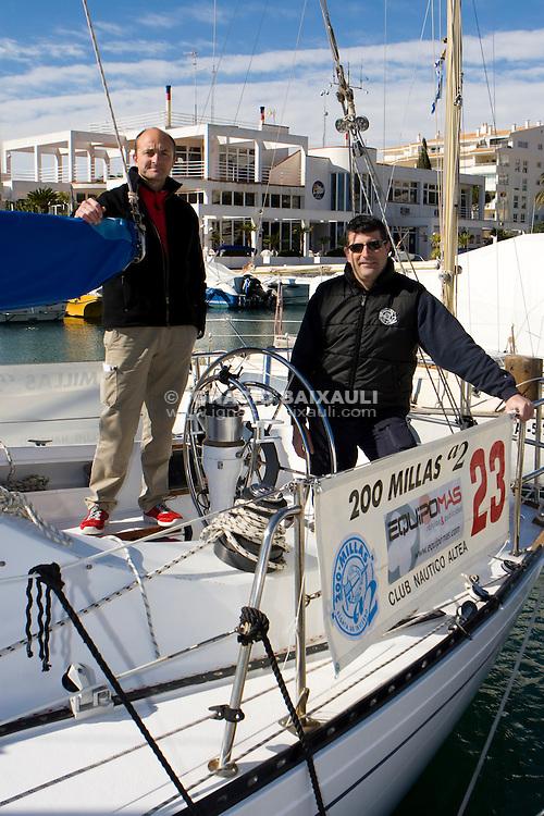 Pinta III.XXIII Edición de la Regata de Invierno 200 millas a 2 - 6 al 8 de Marzo de 2009, Club Náutico de Altea, Altea, Alicante, España