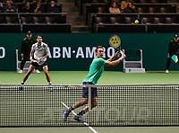 Rotterdam, The Netherlands, 14 Februari 2019, ABNAMRO World Tennis Tournament, Ahoy, Semis, Doubles,<br /> Jeremy Chardy (FRA) Henri Kontinen (FIN),<br /> Photo: www.tennisimages.com/Henk Koster